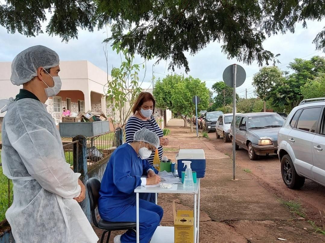 Bossoroca inicia vacinação contra a covid-19 de profissionais da educação