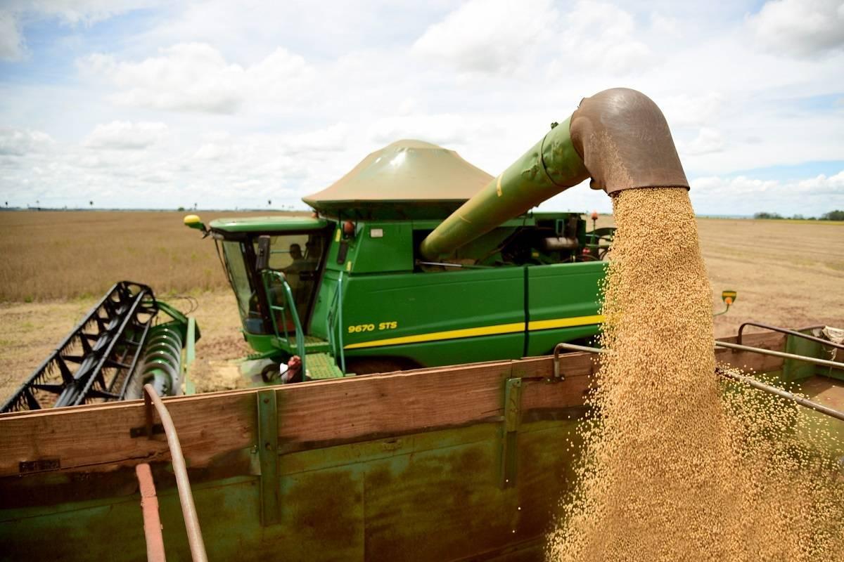 Colheita da soja se encaminha para o fim no Rio Grande do Sul