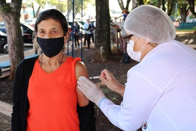 Santo Antônio das Missões aplica 2ª dose da CoronaVac para população acima 65 anos