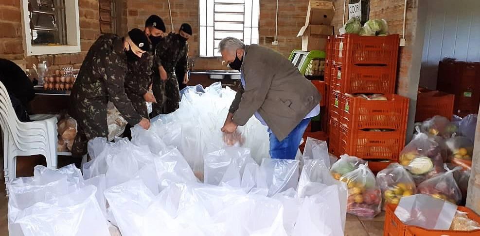 Ação Social de São Luiz Gonzaga entrega cestas básicas do Programa de Aquisição de Alimentos