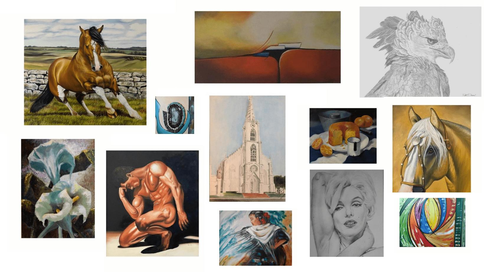 Leilão de obras de arte em prol do Hospital São Luiz Gonzaga será realizado nesta terça-feira