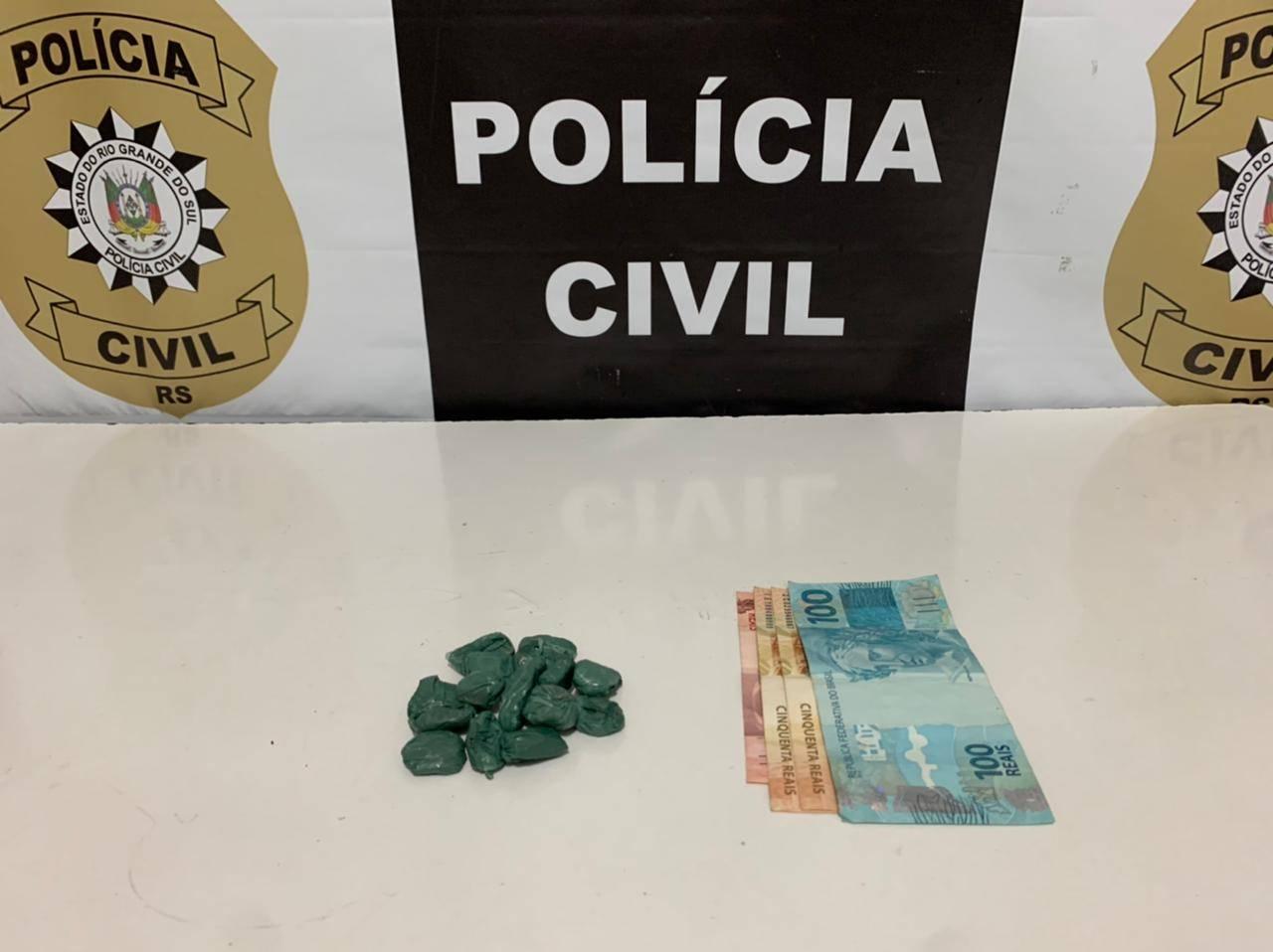 Polícia Civil realiza operação contra o tráfico de drogas em São Luiz Gonzaga