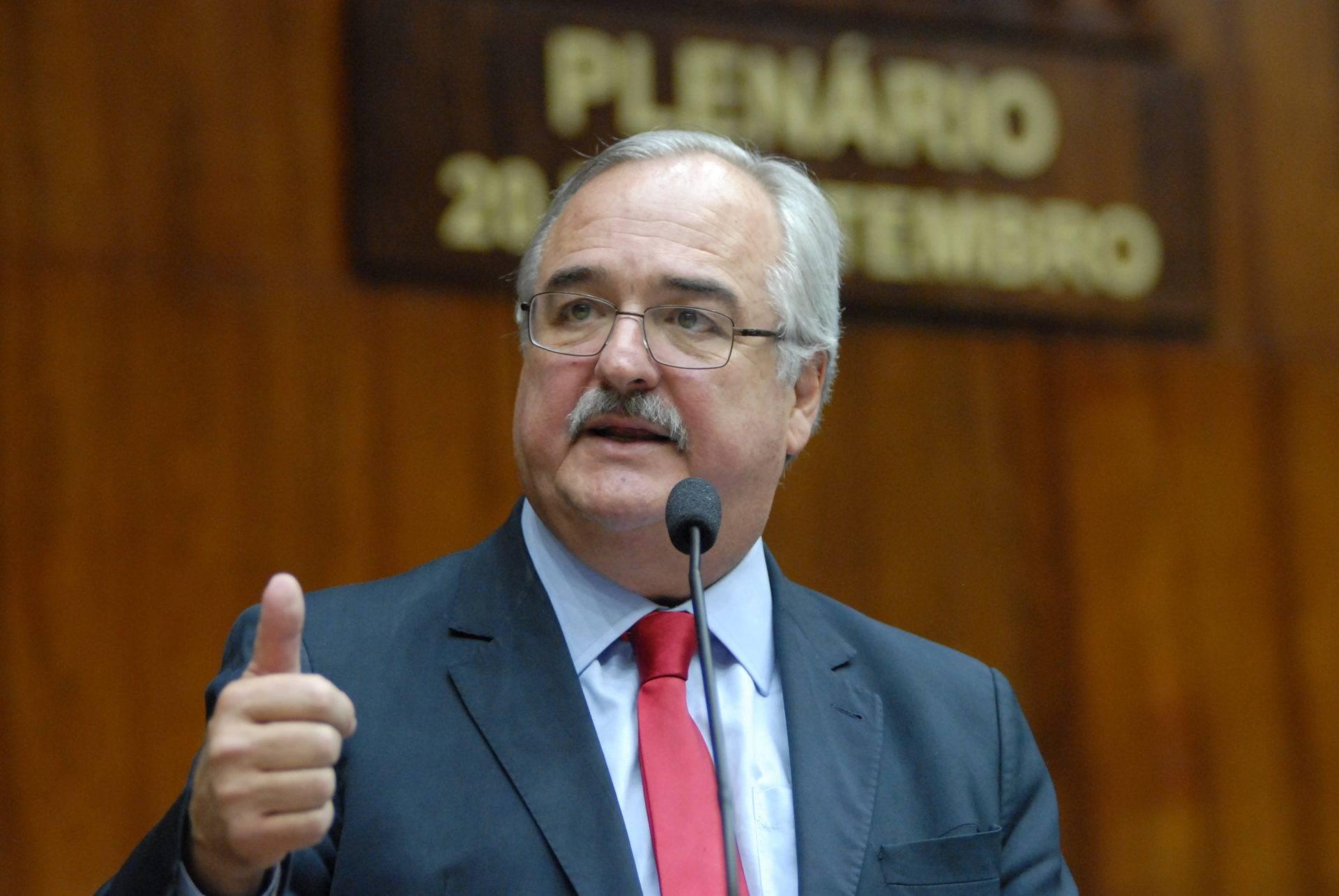 Internado com covid-19, deputado Pedro Westphalen apresenta melhora