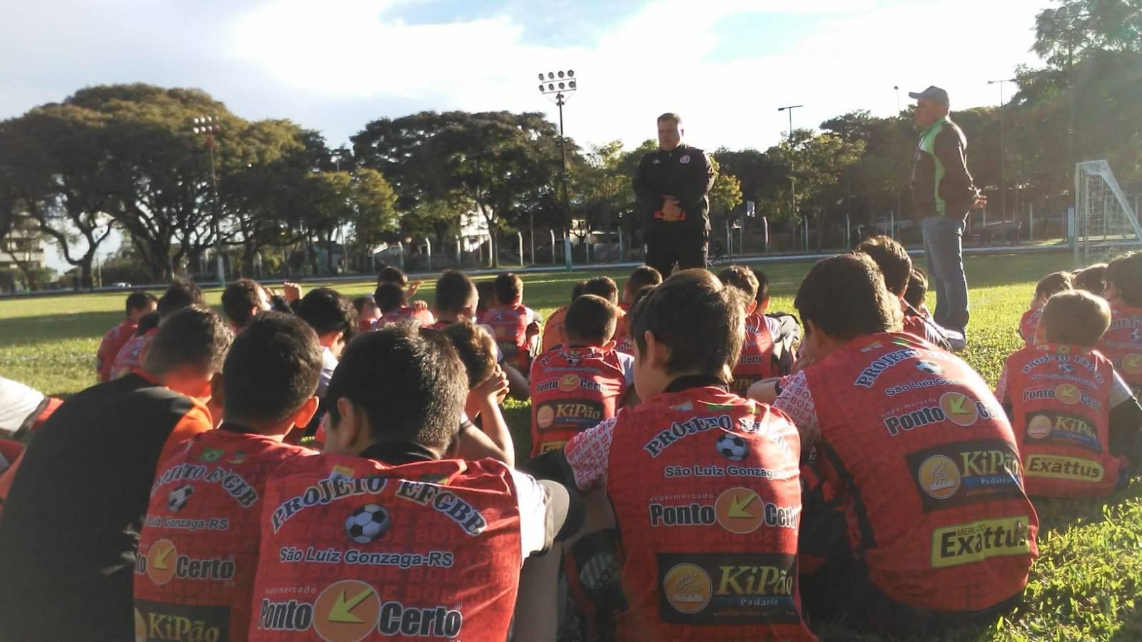 Internacional realiza avaliação de jovens atletas em São Luiz Gonzaga