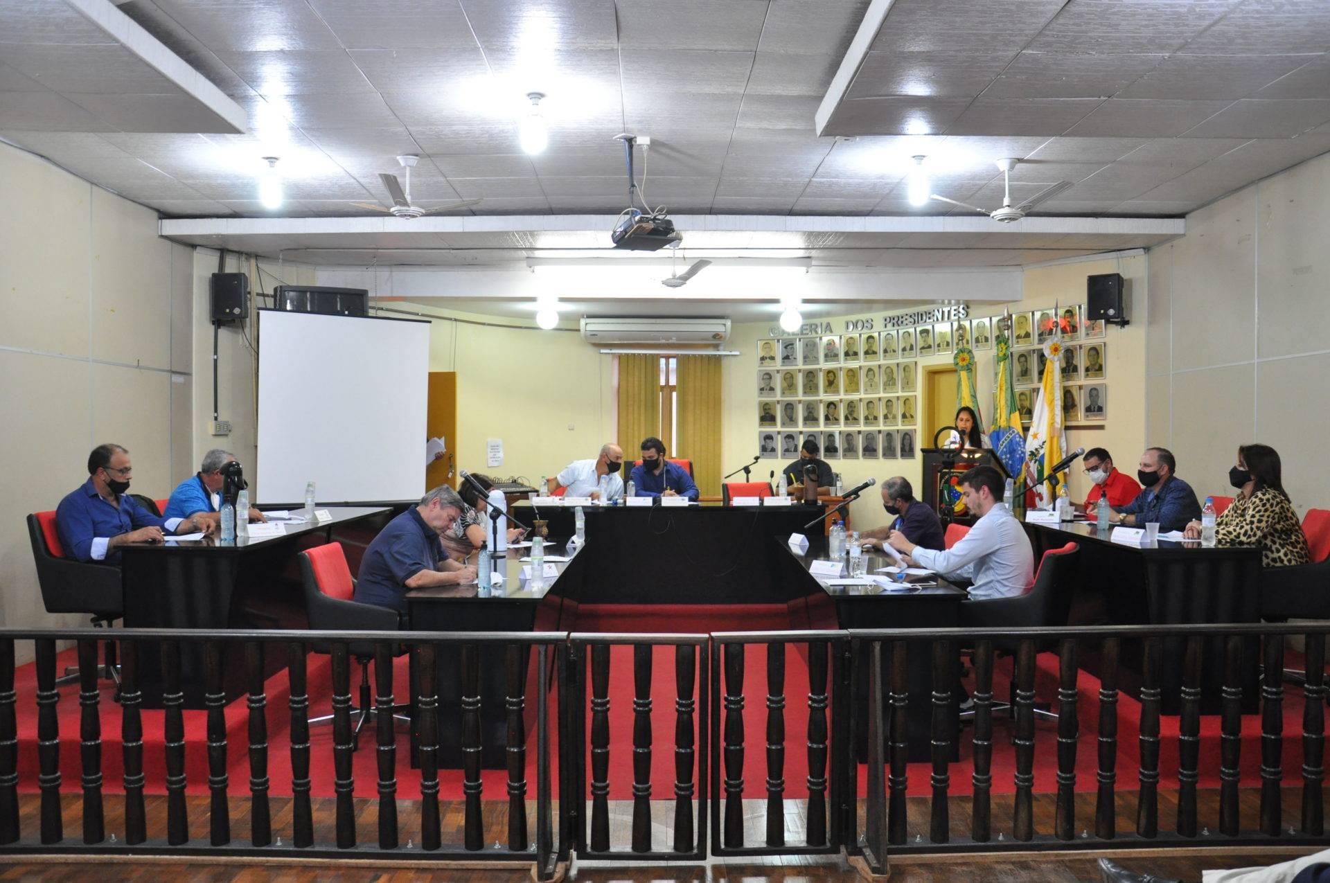 Sessão da Câmara de São Luiz Gonzaga contou com a apreciação de três proposições e seis projetos de lei