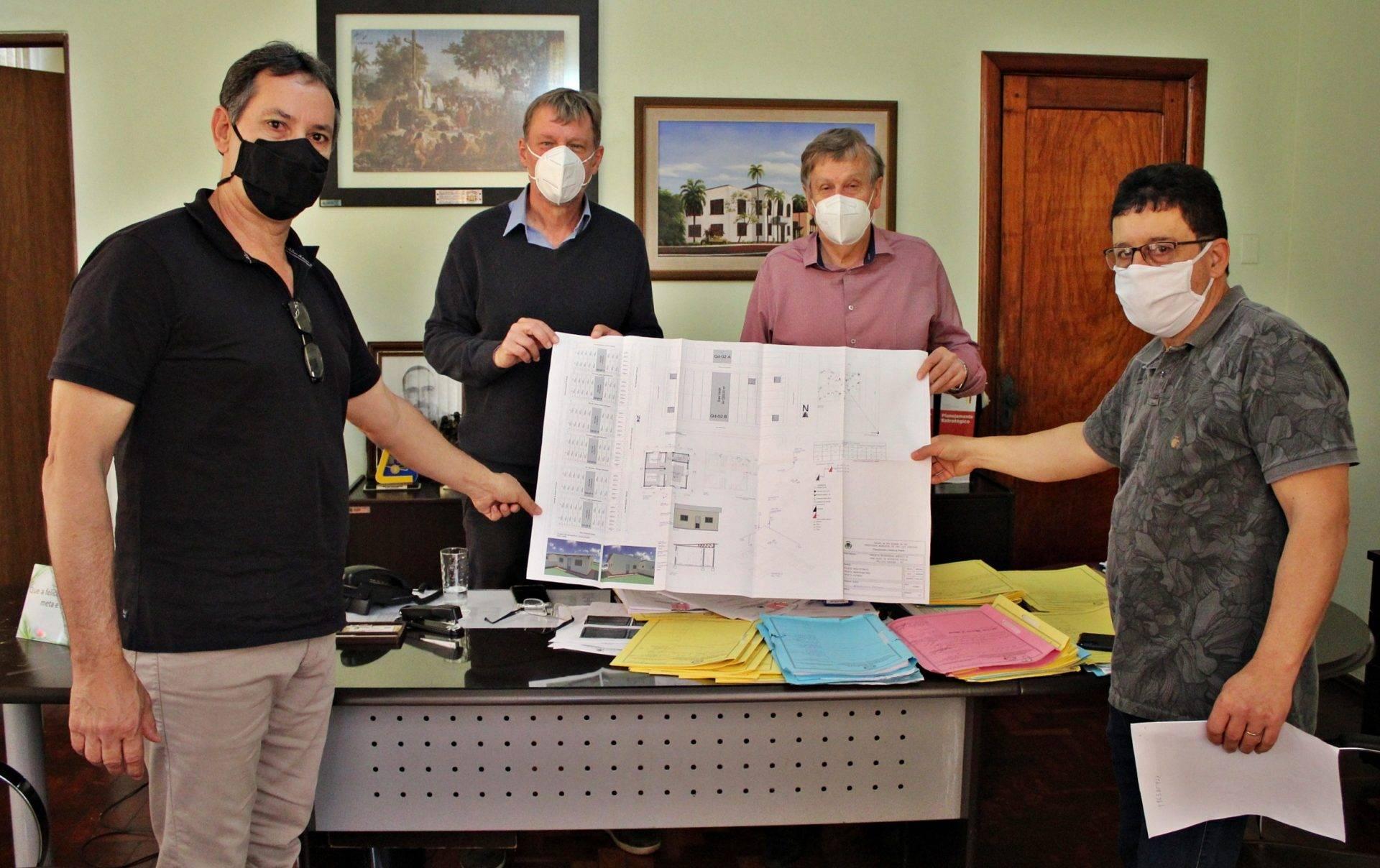 São Luiz Gonzaga irá protocolar projeto para habitações populares no Ministério da Cidadania