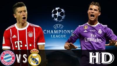 Bayern vs Real Madrid