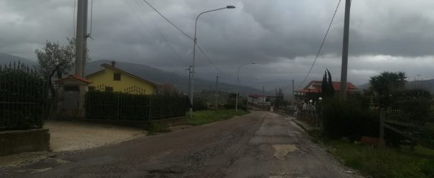 Roccadaspide, a breve la sistemazione della strada di Carretiello