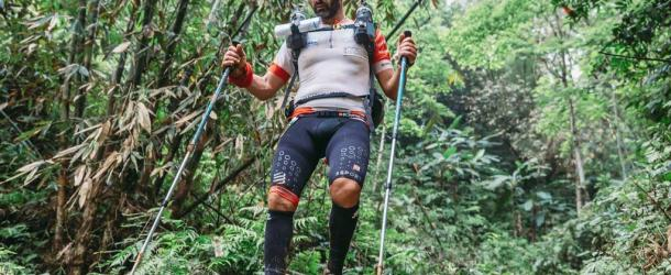 Giuseppe De Rosa, primo italiano a terminare il Roadsign Continental Challenge