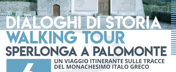 A Palomonte la tappa del Walking Tour