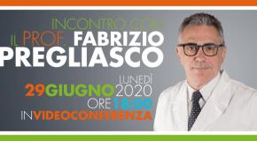 Web meeting con il Prof. Fabrizio Pregliasco a Salerno