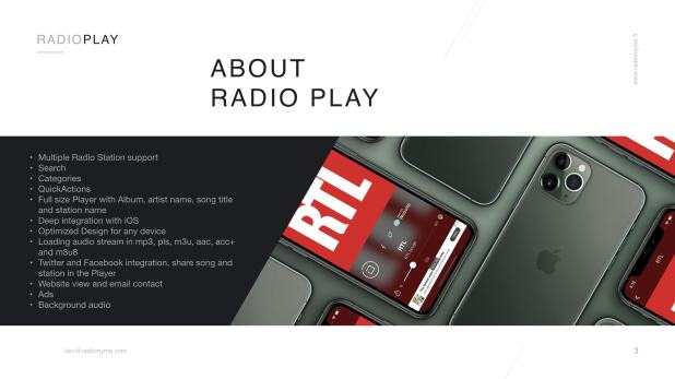 Radio Play for iOS and tvOS (compatible iOS 12 & tvOS 12) - 3