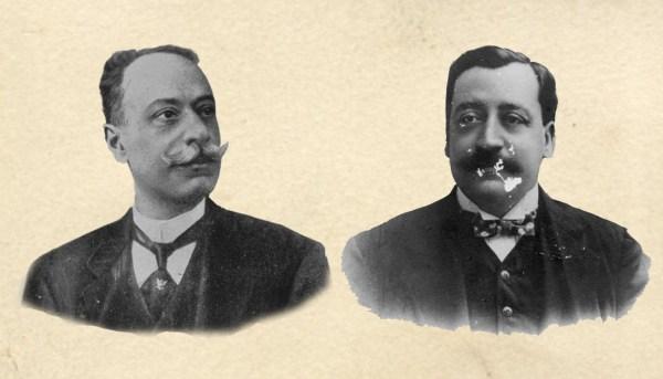 Givanni Capurro e Eduardo Di Capua