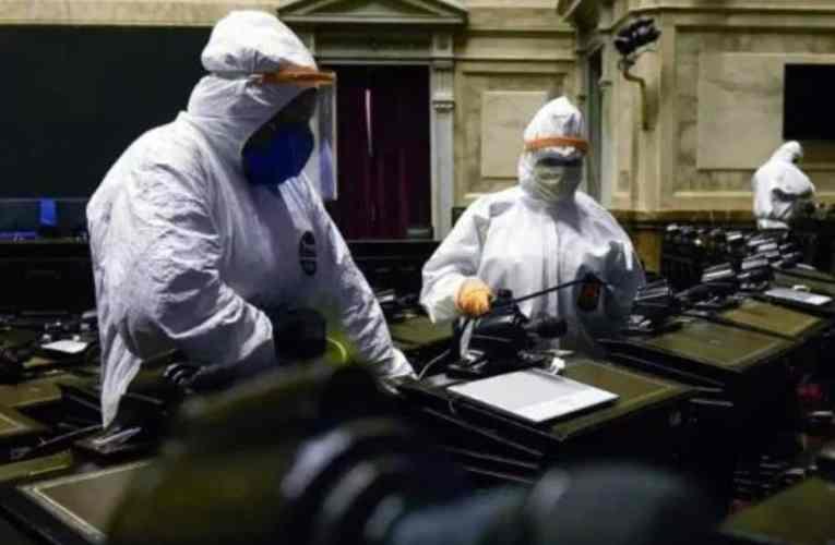 Suspenden las sesiones presenciales en Diputados por un nuevo caso de Covid-19