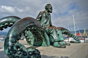 Monument to Jules Verne