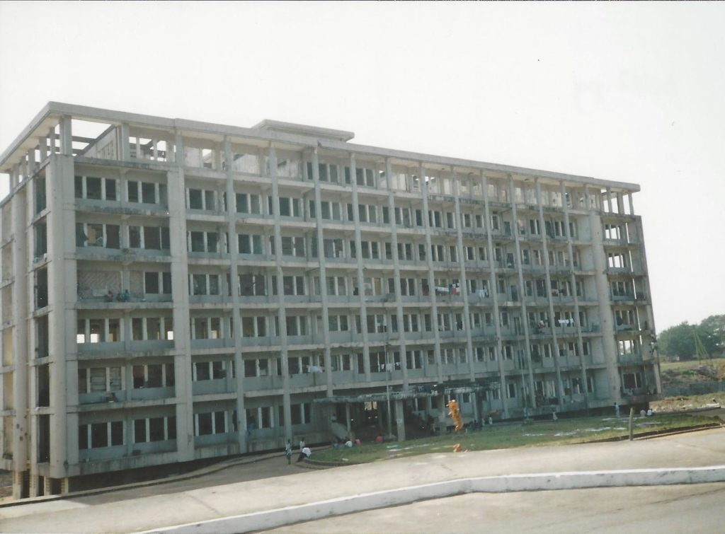 Former ministry in the Liberian capital Monrovia