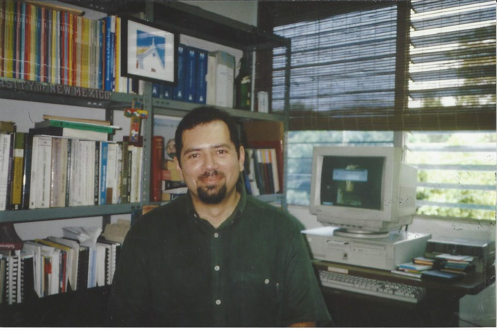 Miguel Cruz, professor at the University of Central America and