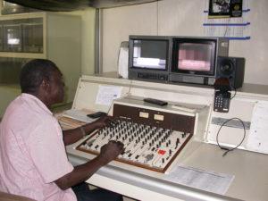 Mavegro FM radio studio