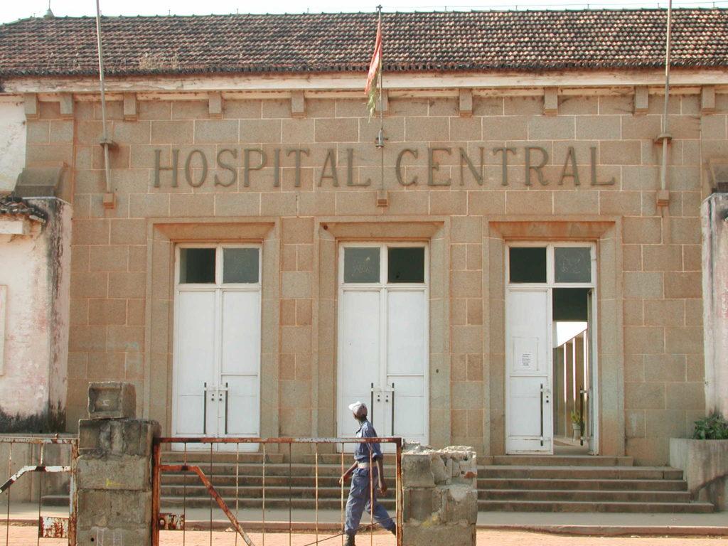 Hospital in Huambo
