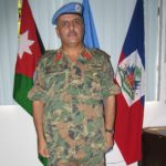 Colonel Dalbeeh, the head of the Jordanian peacekeeping force