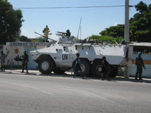UN peacekeeping force in Port-au-Prince