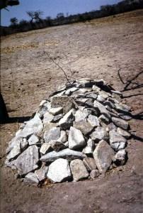 Reburied body of Edwel Ndcovu, Darlington's father