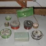 Different types of landmines