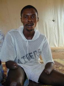 Abdul Sankoh, 28-year-old teacher