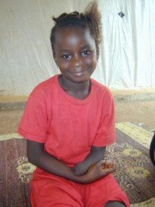 Damba, child amputee in Sierra Leone