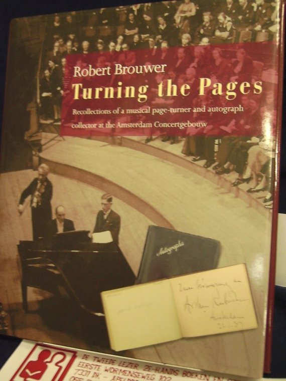 Book Cover of Robert Brouwer's memoirs