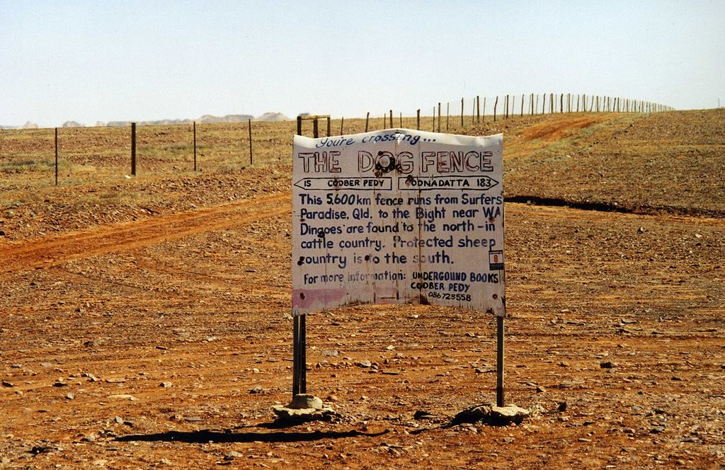 Dingo Fence in Australia