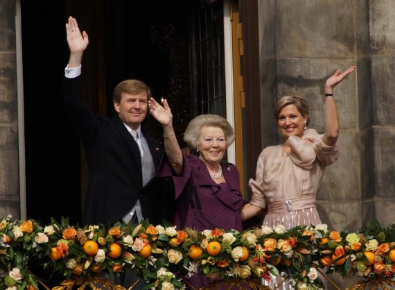 King Willem Alexander, Princess_Beatrix + Queen Maxima