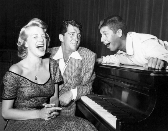 Rosemary Clooney, Dean Martin and Jerry Lewis on television in 1952