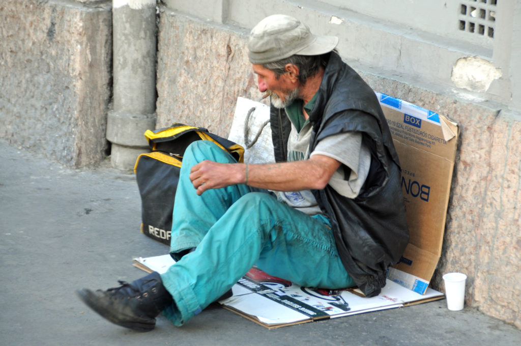 Serbian beggar