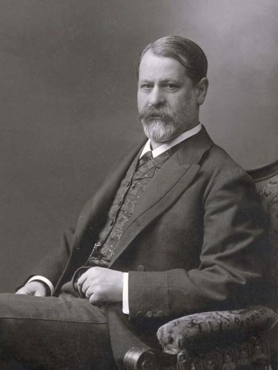Sigmund Freud ca 1906 , (c) Sigmund Freud Privatstiftung