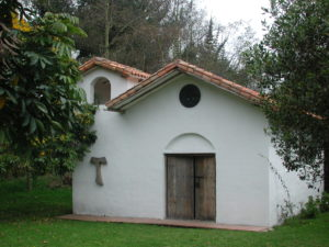 Chapel on Dr. van der Hammen's property