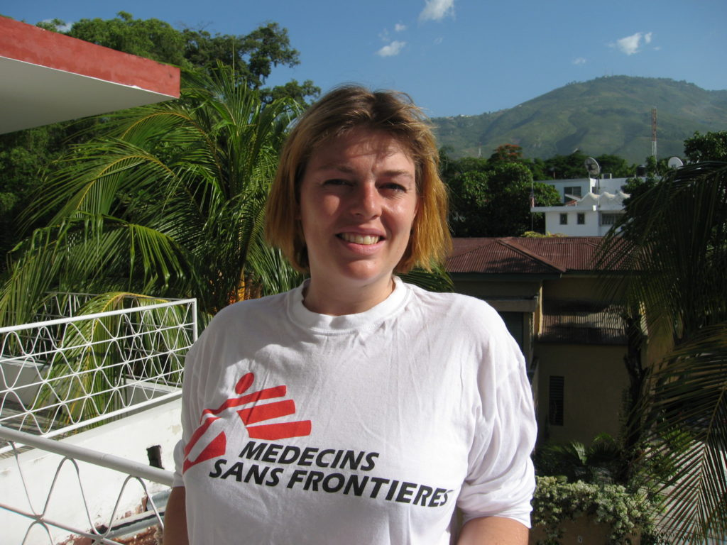 Petra Reijners, MSF head of mission