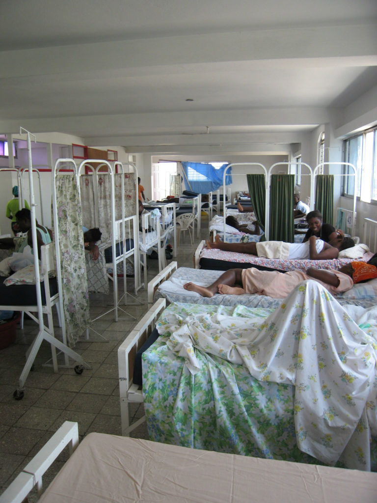 Maternity ward at St Jude Hospital