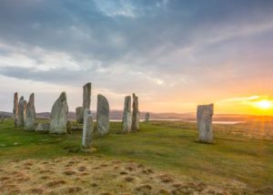 Callanish Stones, on the west coast of Lewis in the Outer Hebrides, Scotland