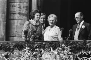 Following the abdication of Queen Juliana and the inauguration of Queen Beatrix