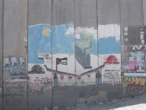 Separation barrier art