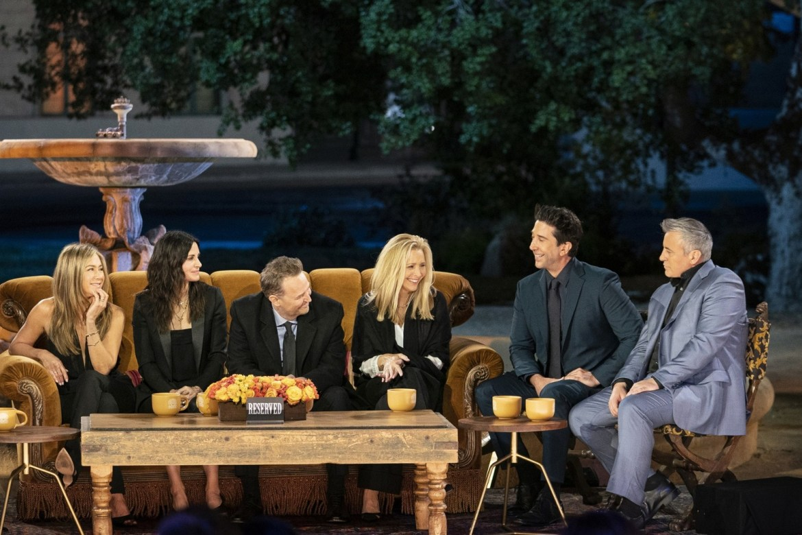 Friends: The Reunion breaks Sky One viewing record