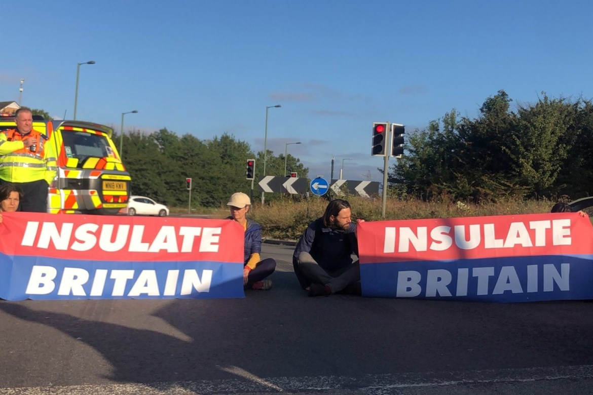 Climate protesters target M25 for second time in three days