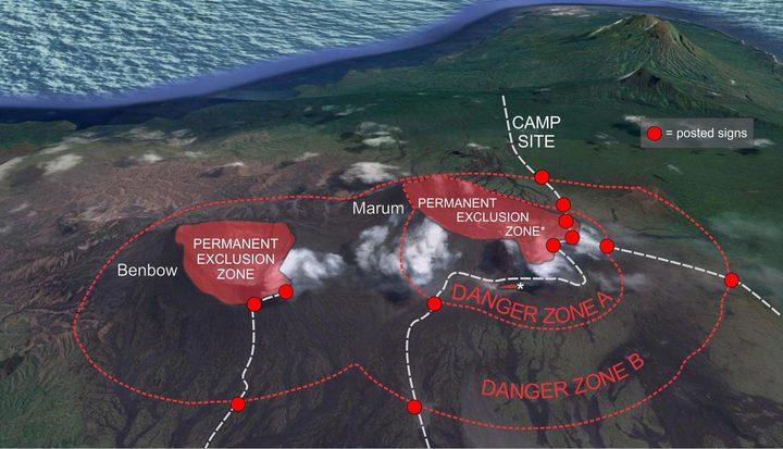 Danger zones around Vanuatu volcanoes could be increased ...