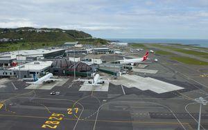 Wellington International Airport.