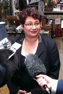 Greens co-leader Metiria Turei.