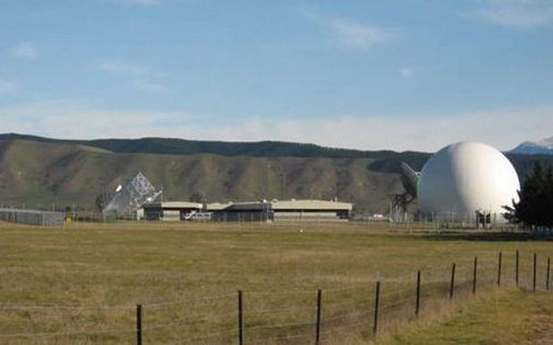 The Government Communications Security Bureau (GCSB)'s spy base at Waihopai, near Blenheim.