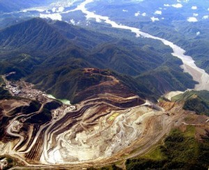 Ok Tedi mine, Papua New Guinea