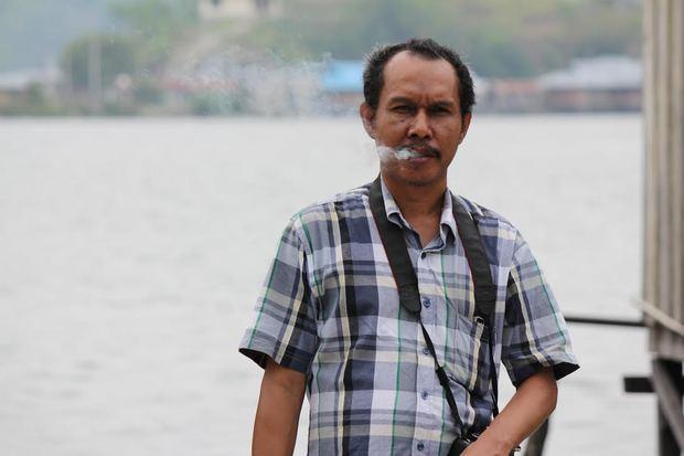 West Papuan journalist Victor Mambor.