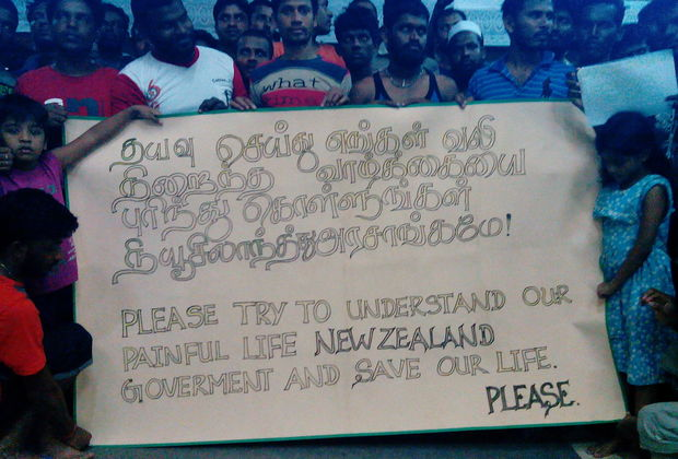 Refugees from Bangladesh, Sri Lanka and Myanmar are seeking asylum in New Zealand.